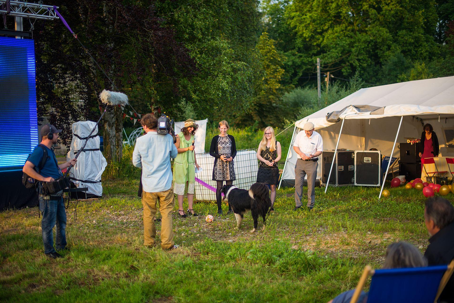 Hobbyfilmcontest Preisträgerinnen Bettina Rittler und Tanja Riedinger