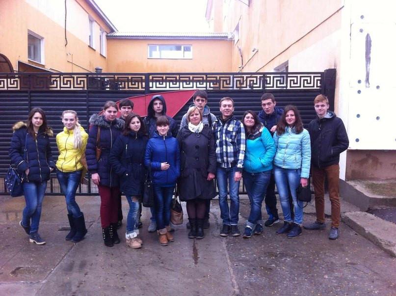Задоволена група разом із викладачем Колаковською С.П.