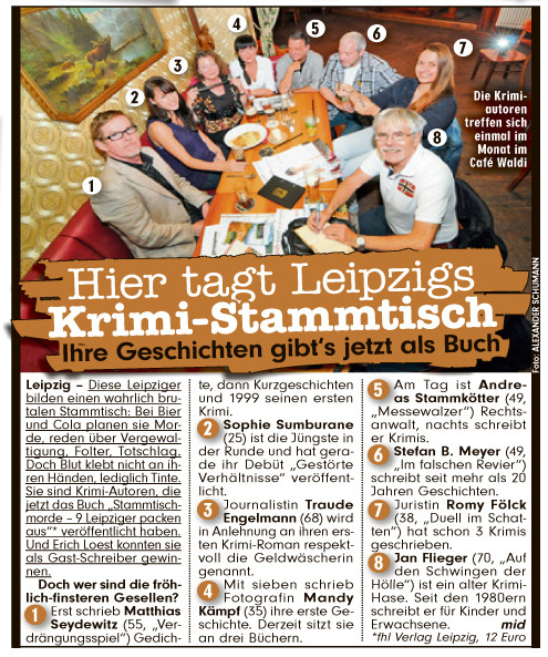 Bild Leipzig Ausgabe vom 10.10.2012