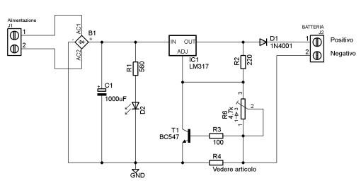 Carica batterie iz0upss jimdopage for Costruire un temporizzatore 12v