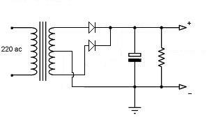 Come si può usare un trasformatore con presa centrale