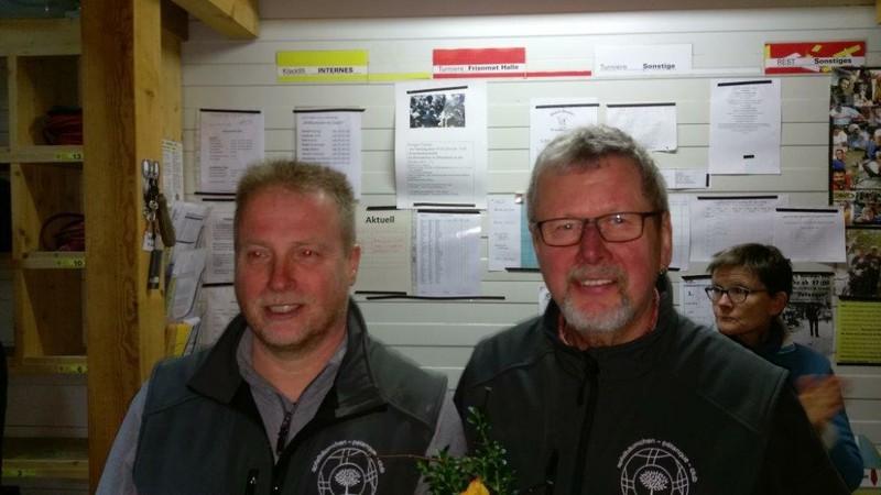 den dritten Platz in der Serie: Robin und Gerd