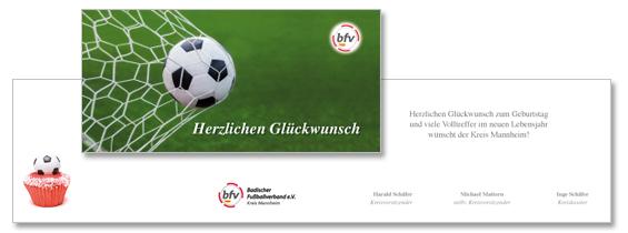 Karte BADFV Werbeagentur Design Labor Seckenheim