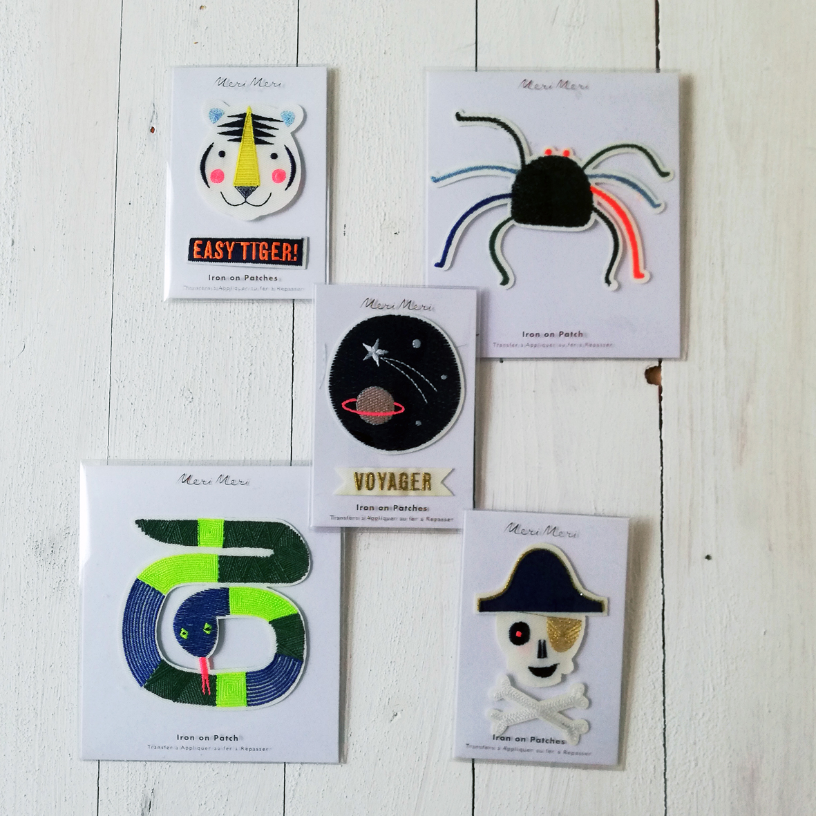 Meri Meri Patches je € 7,-