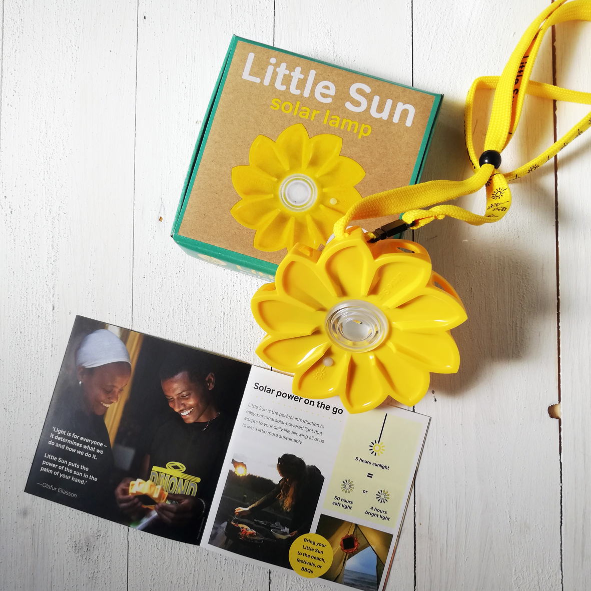 Little Sun LED Solarlampe € 22,50