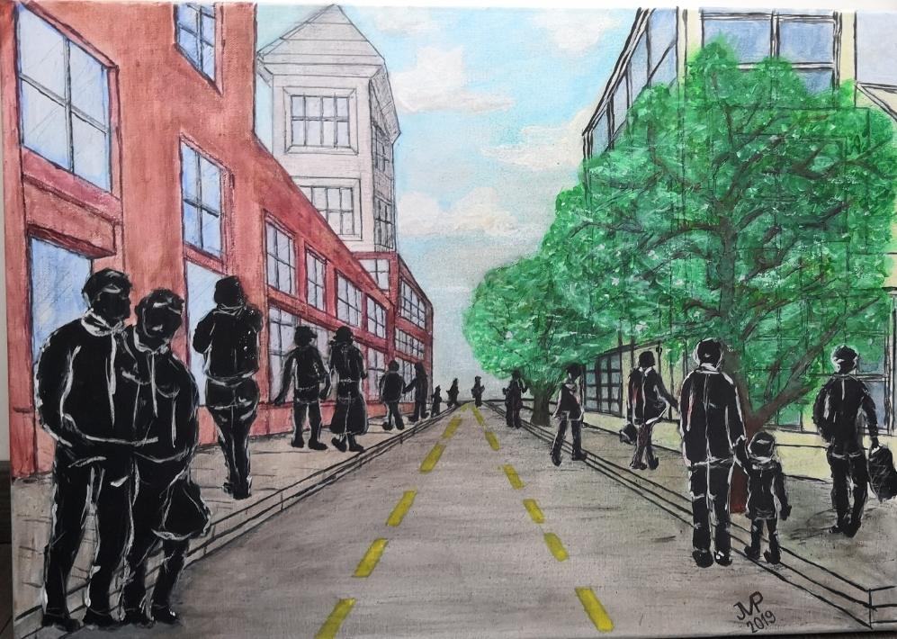 Perspective de rue