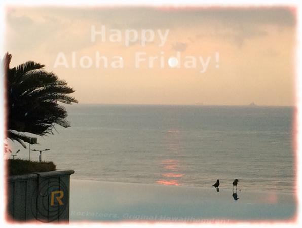 Original Hawaiihemd von Rocketeers!  Aloha Friday 01.September  2017