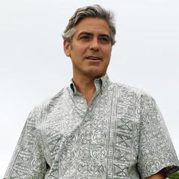 George Clooney im Hawaiihemd