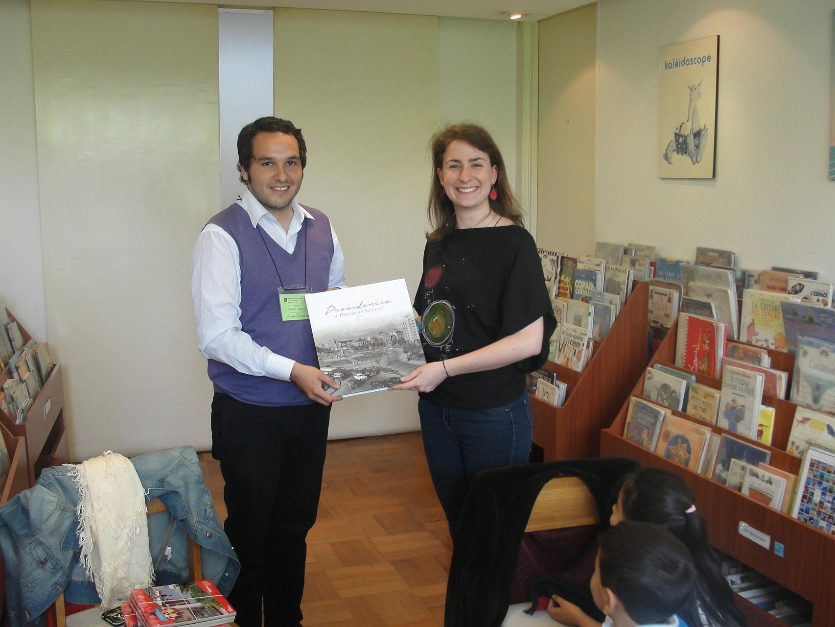 Donation des documents à la bibliothèque