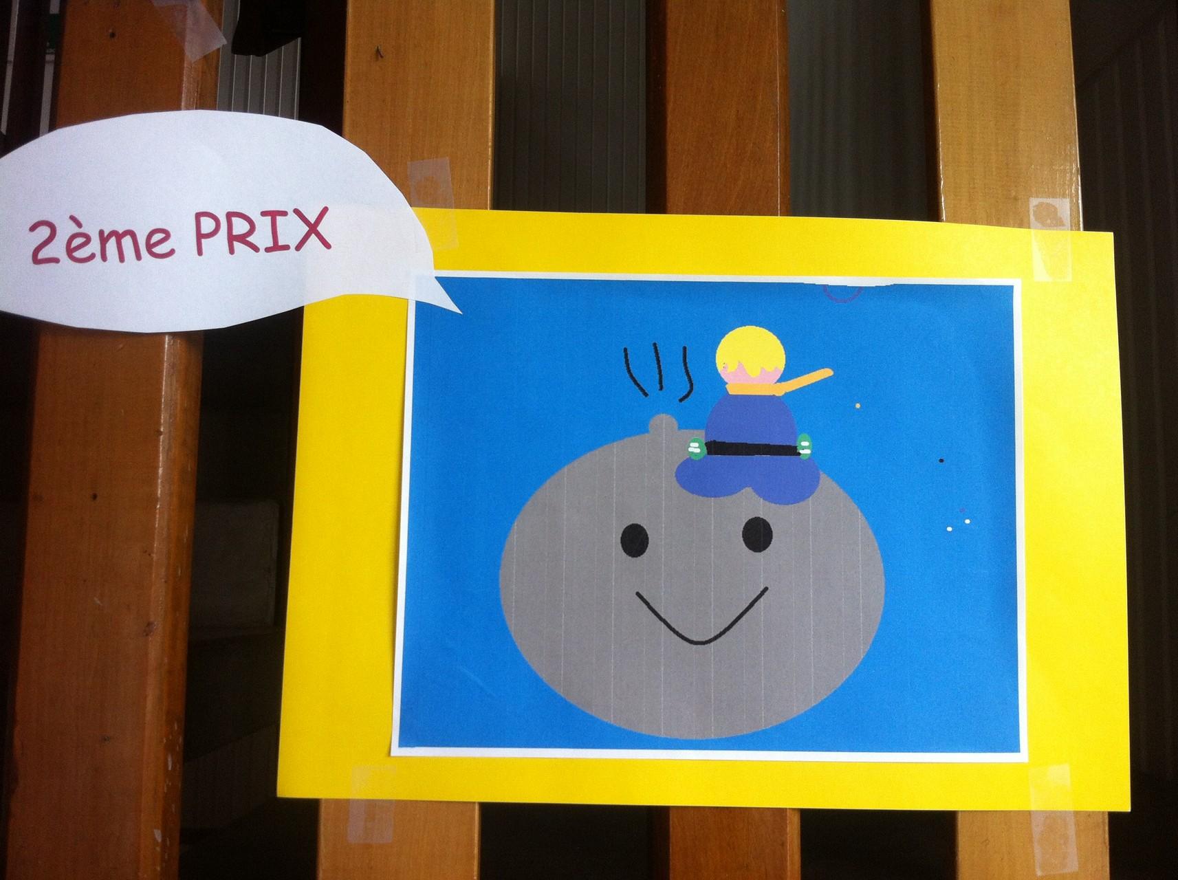 2ème prix : Le petit prince