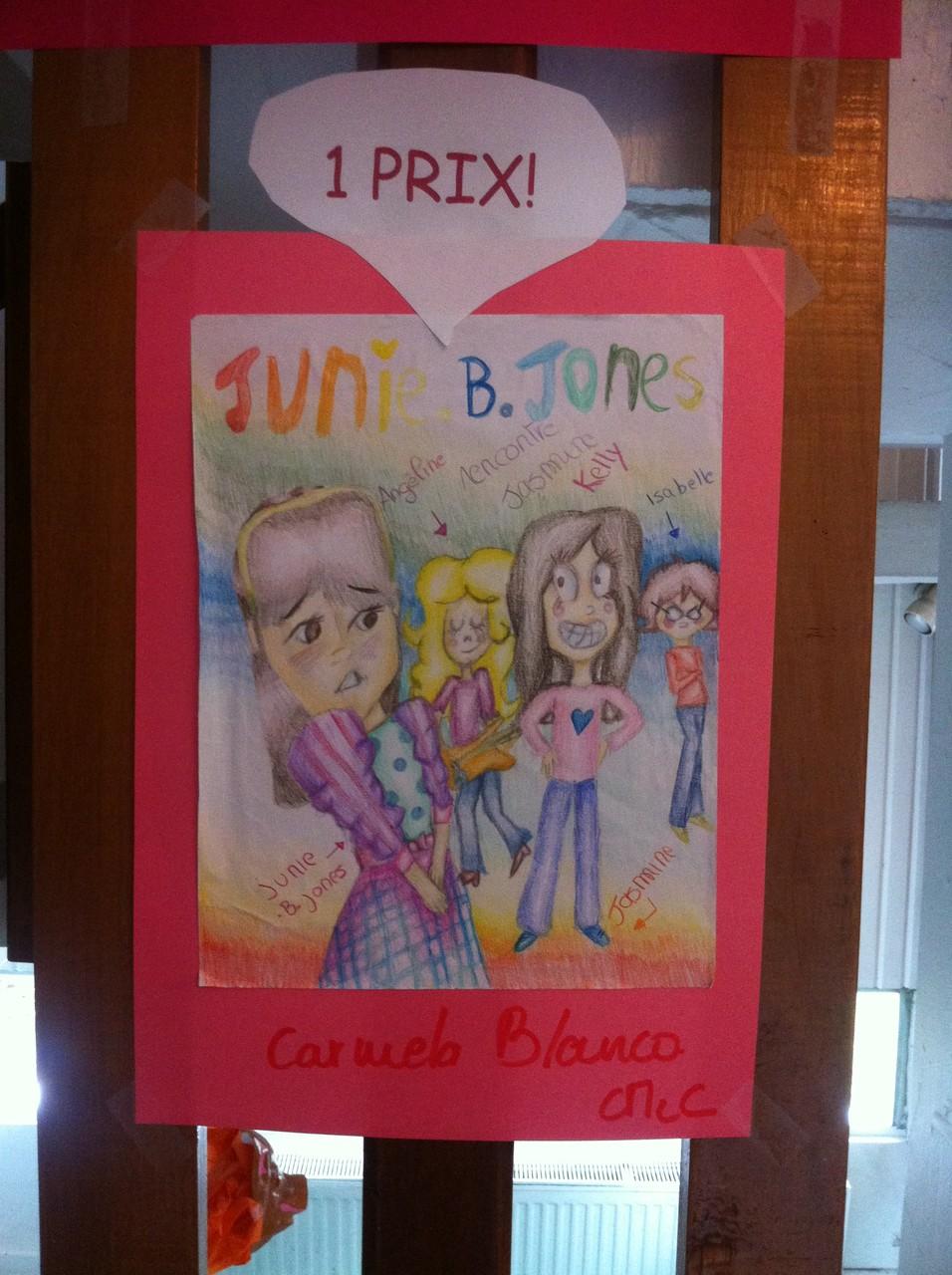 1er prix : Junie B. Jones