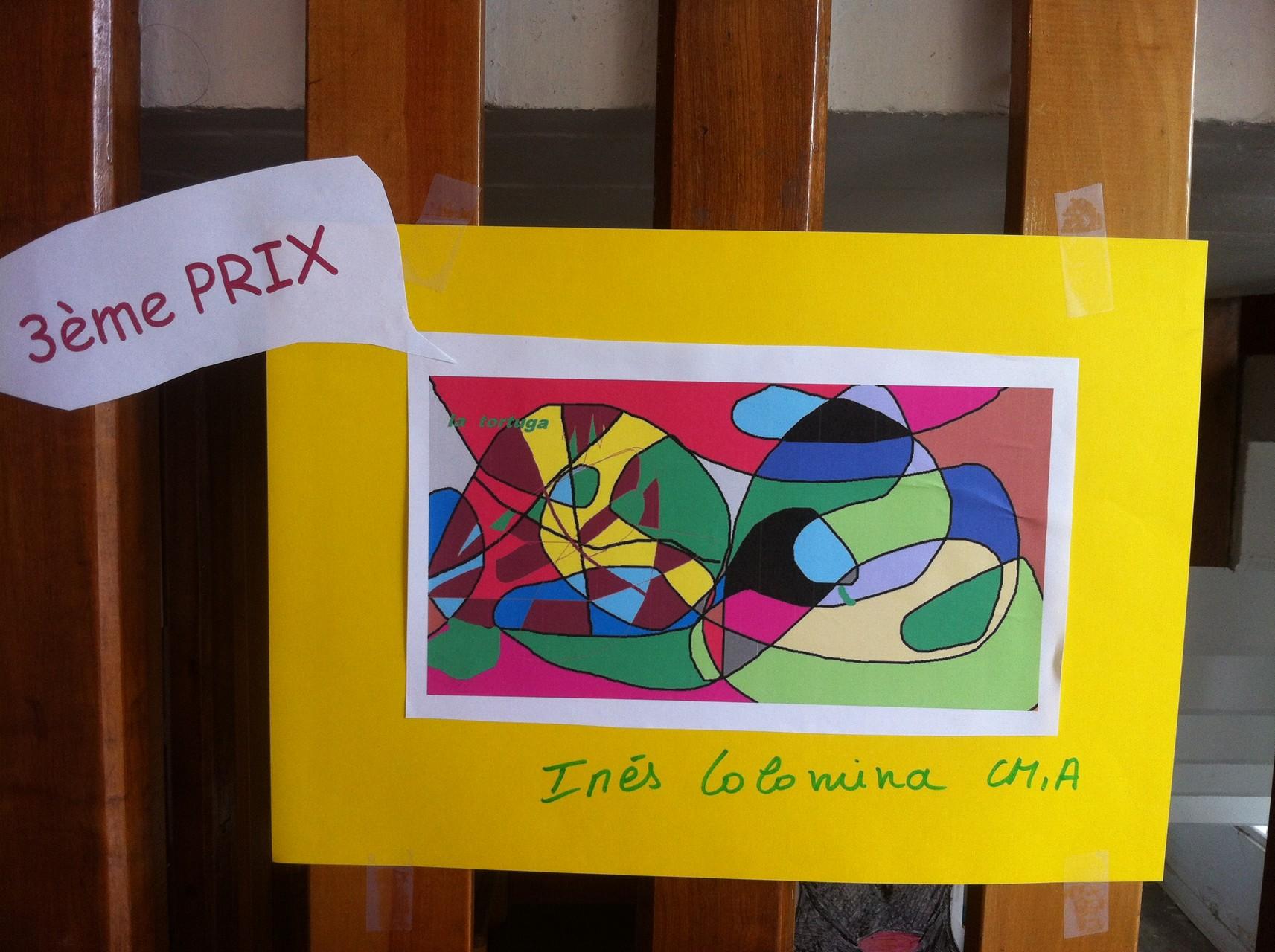 3ème prix (ex aequo) : La tortuga