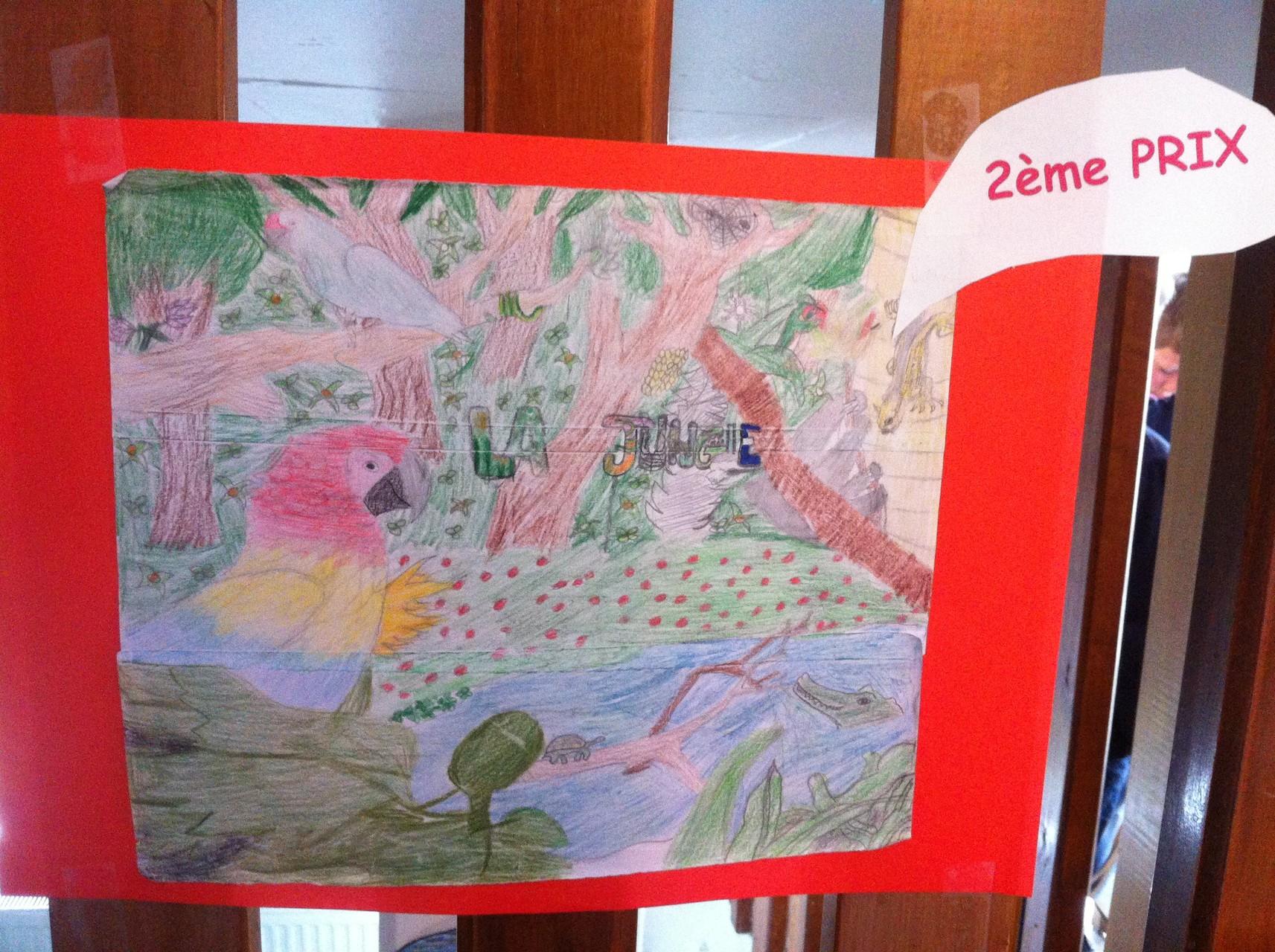 2ème prix (ex aequo) : La jungle