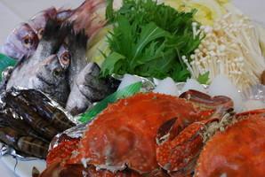 味噌仕立ての海鮮鍋