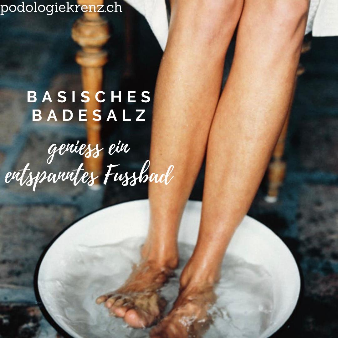 Basisches Badesalz
