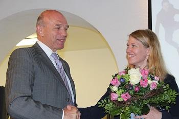 Landrat Dirk Gaerte und Dr. Antje von Dewitz