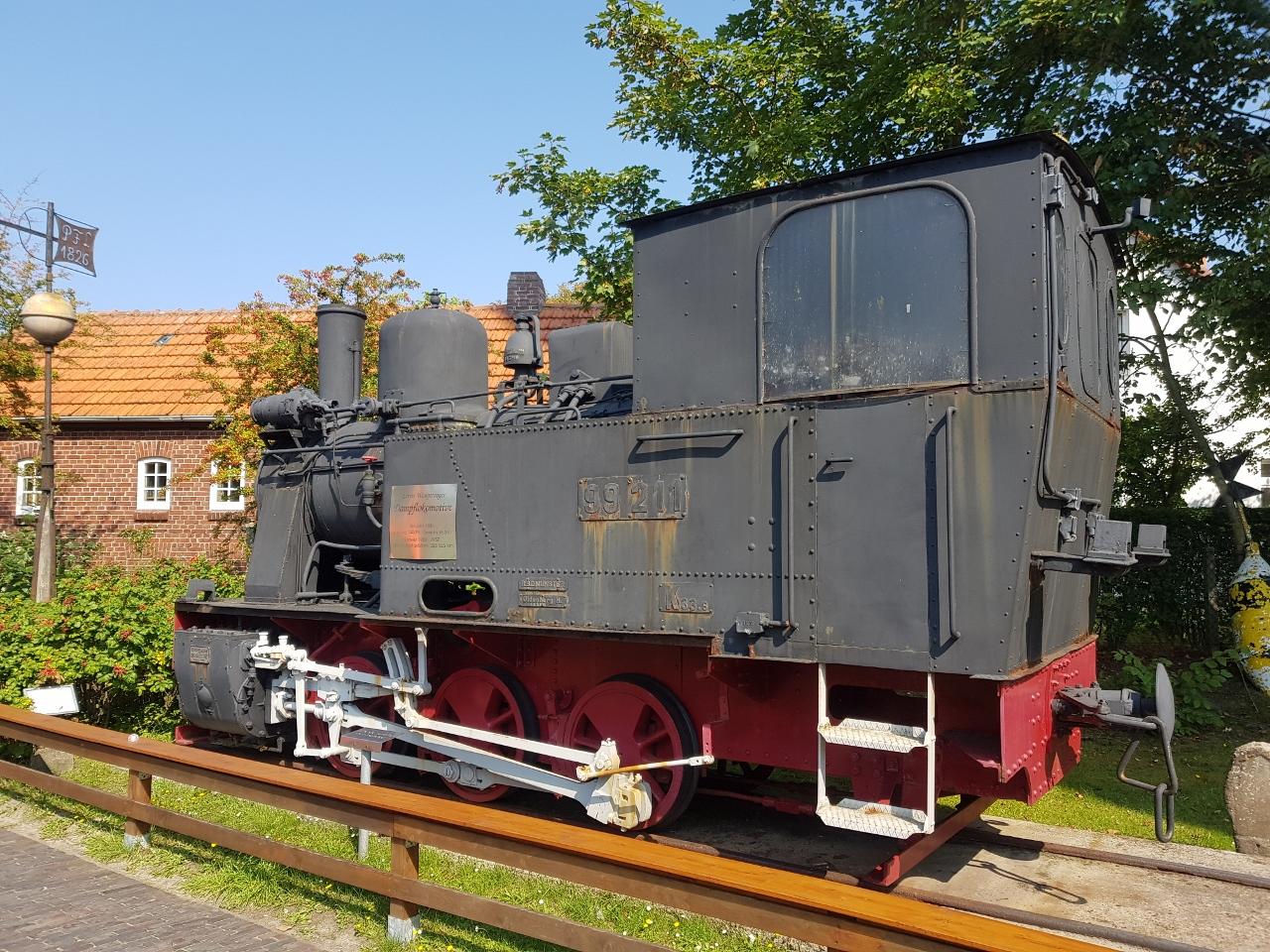 Wangerooge Dampflock