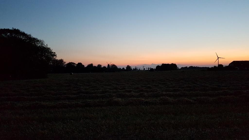 Carolinensiel Sonnenuntergang