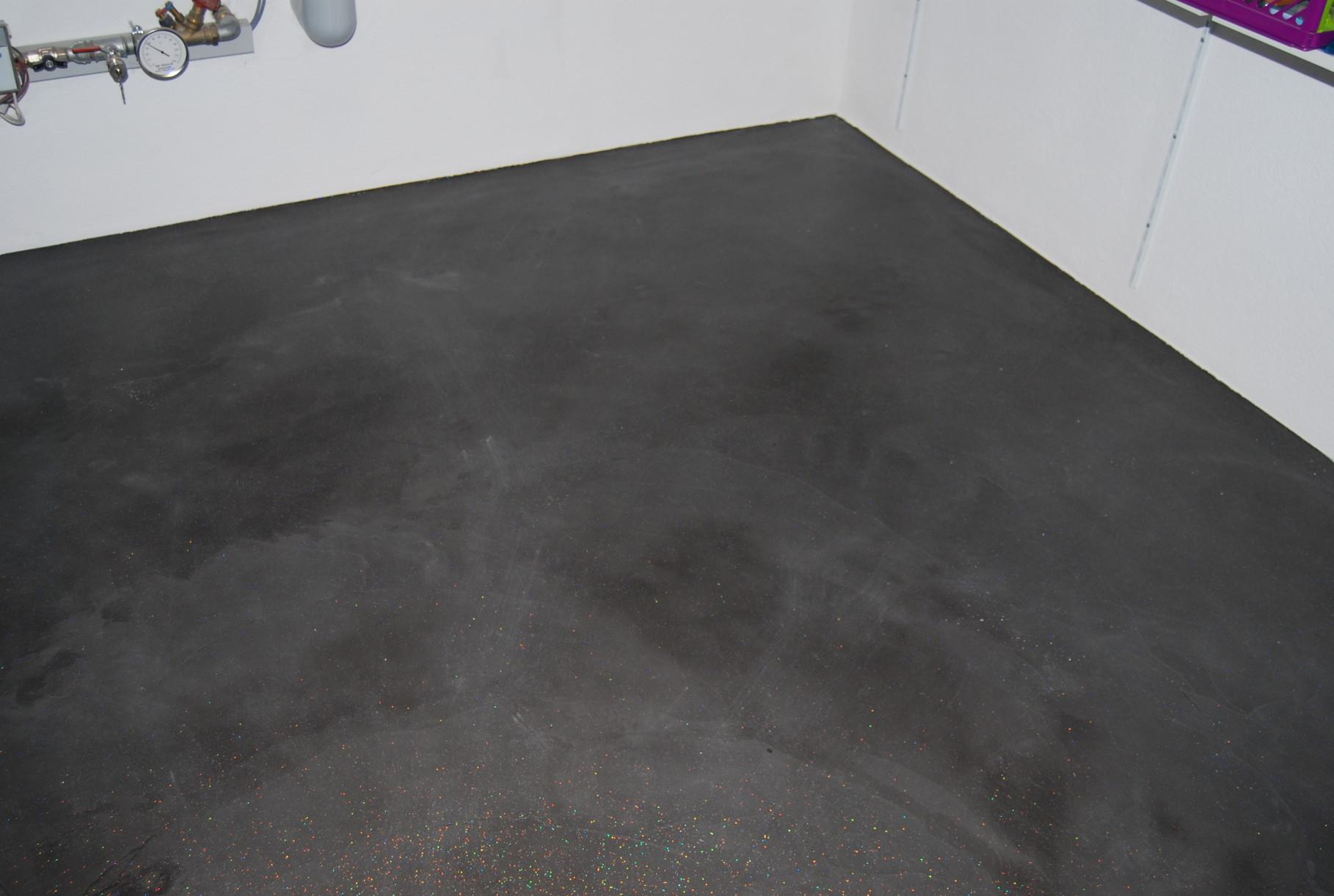 Heizungsboden mit Naturofloor und Netzarmierung