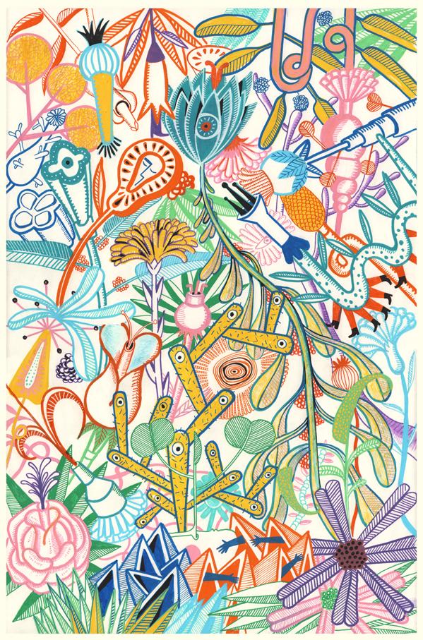 Acid garden