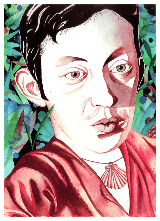 Saint James the greater. Serge Gainsbourg