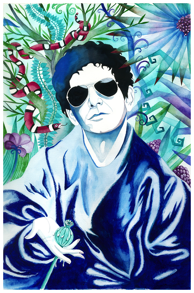 Im your man. Lou Reed