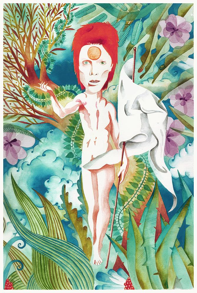 Lazarus. David Bowie