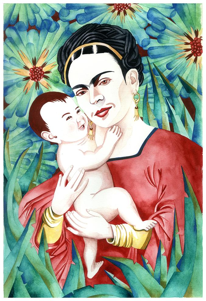 Las dos Fridas. Frida Khalo