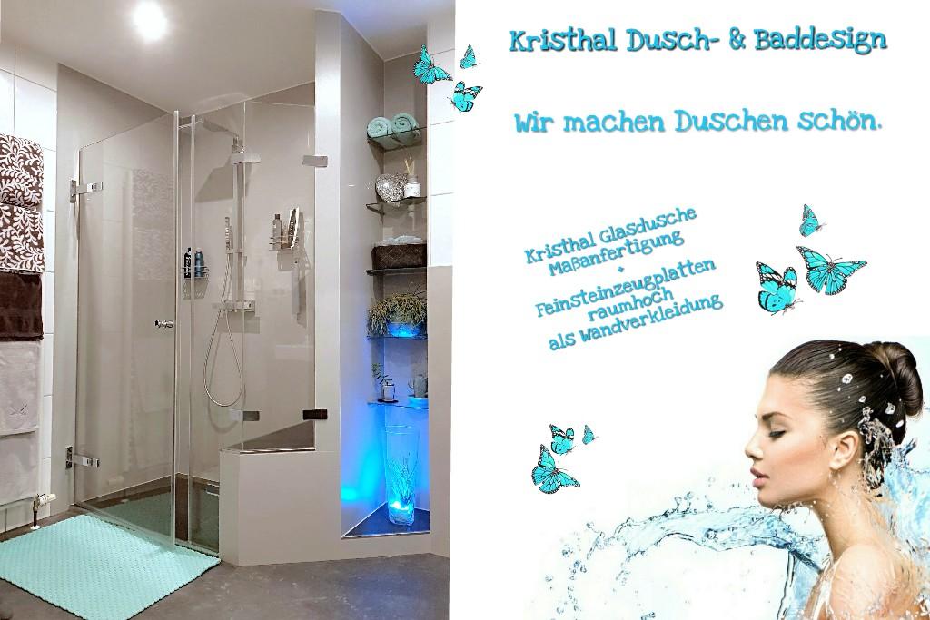 """""""hab Schmetterlinge in meinem Bad"""" ☆ Eleganz & Grazie ☆ Die Dusche zum Wohlfühlen."""