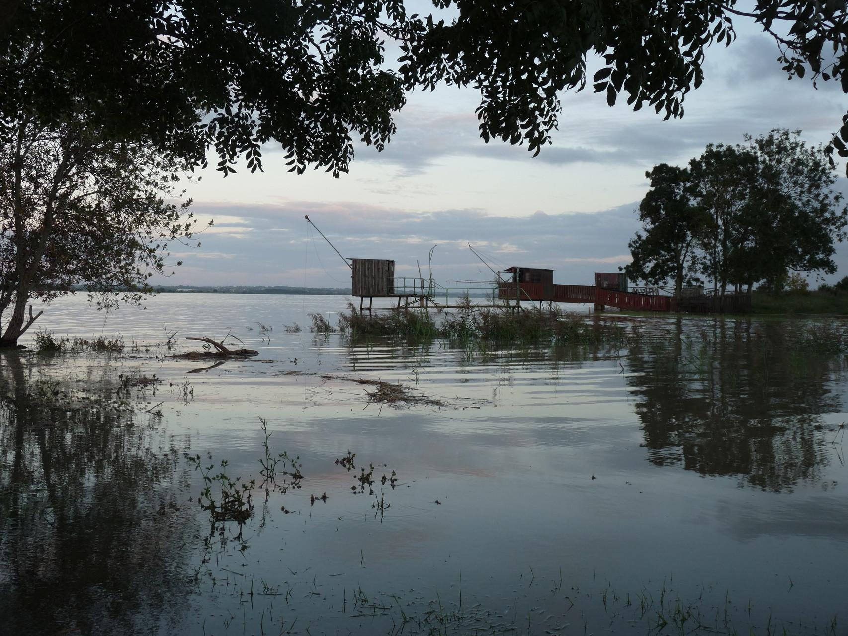 Port inondé