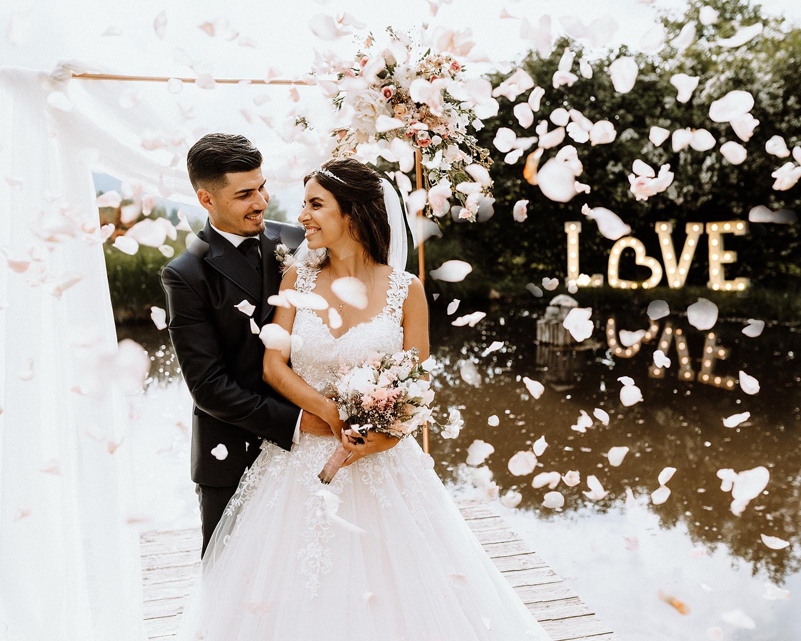 Hochzeit im Hofgut Hohenstein - die Freie Trauung von Raquel und Luis