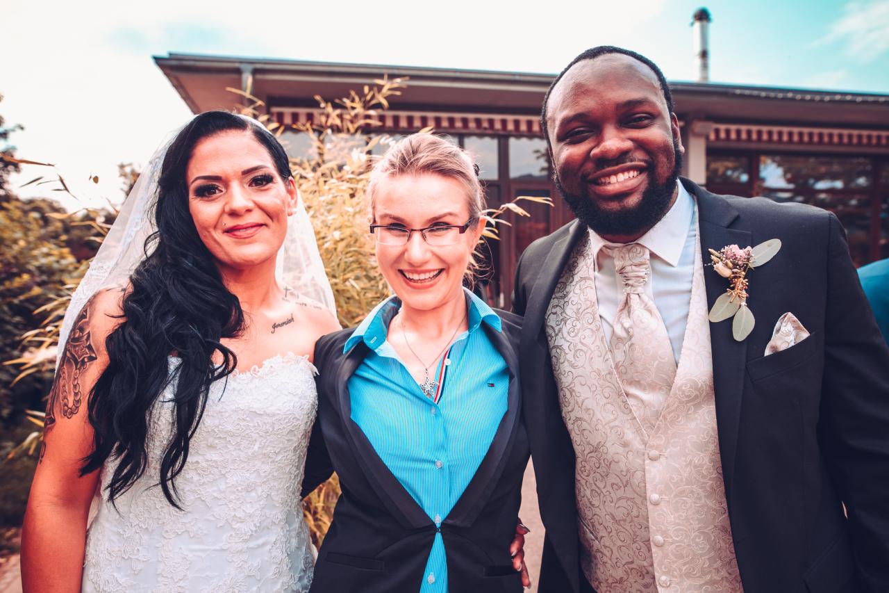 Jessica und Nathan - eine deutsch-amerikanische Hochzeit in Heidelberg