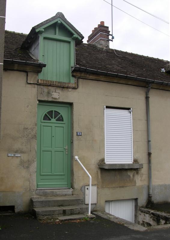Maison natale du P. Marcel Denis, à l'époque 129 rue du Mans