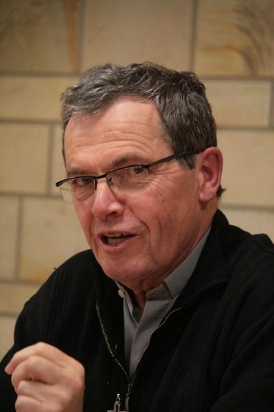 P. Loïc Gicquel des Touches pendant la conférence