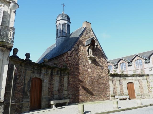 Chapelle Notre-Dame de Lorette dans le quartier de Montsort