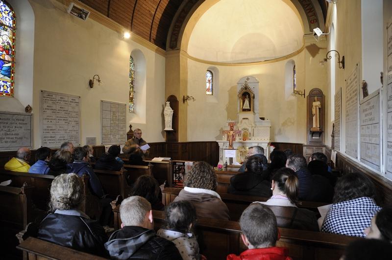 Mot d'accueil de Guy Fournier à la chapelle de l'enfant Jésus de Prague