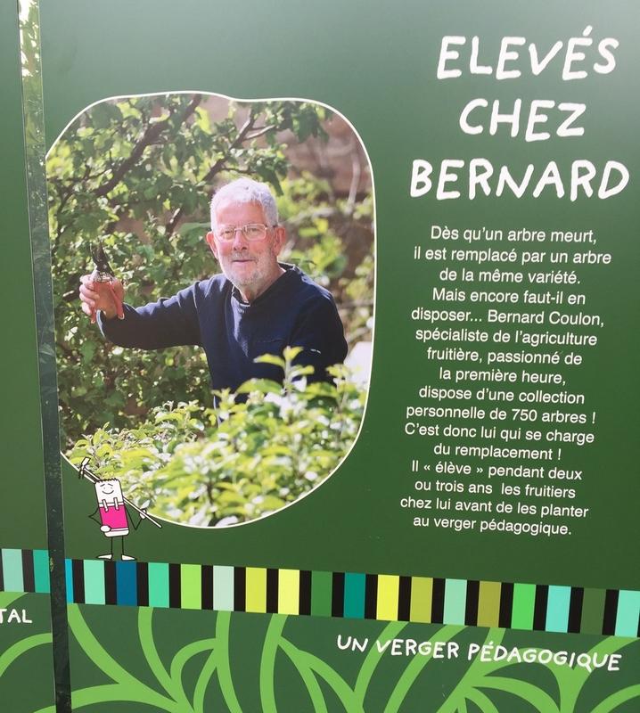 Bernard, disciple de St Fiacre...