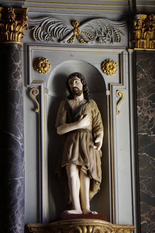 sous le regard de St Jean Baptiste