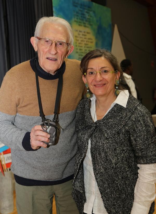 Père Paul Constantin et Marie Blin