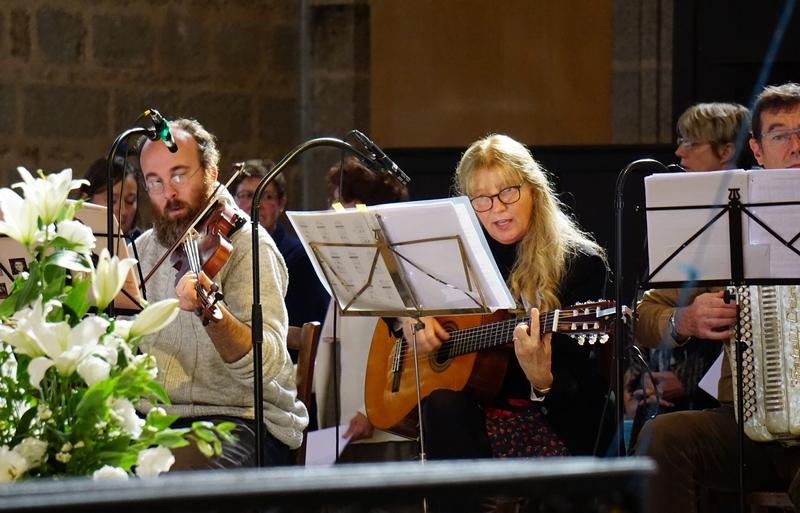 Les musiciens du sanctuaire