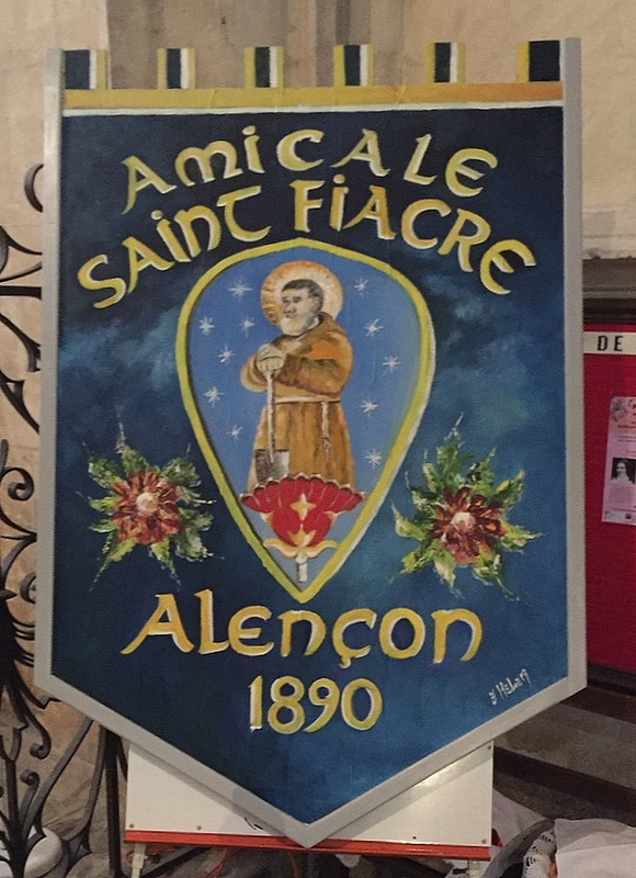 Tableau réalisé par un des jardiniers de la saint Fiacre