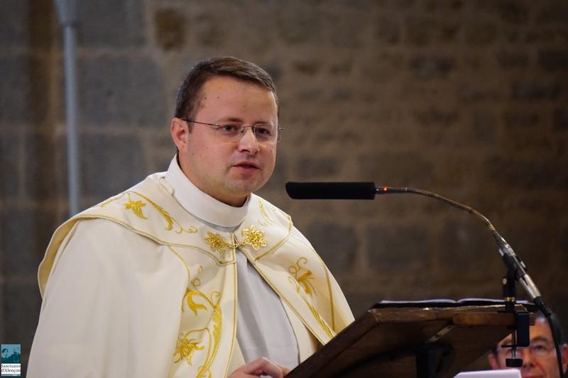 P. Jean Marie Simar, recteur du sanctuaire