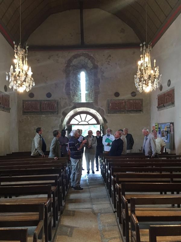 Visite de l'église de St Denis sur Sarthon...