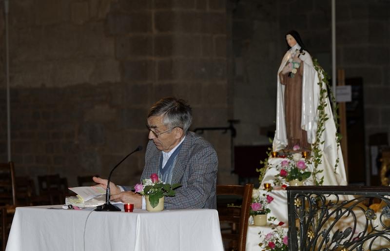 ... pour écouter M. Guy Fournier, administrateur du sanctuaire