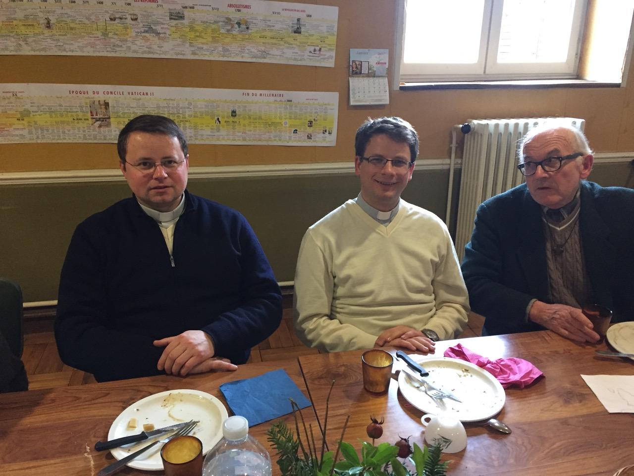 La Maison Martin fut bien représentée avec les PP. Jean-Marie et Norbert, le tout nouveau et dernier venu.