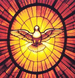 La Gloire (détail : l'Esprit Saint), Le Bernin (17e s), Basilique Saint Pierre, Rome