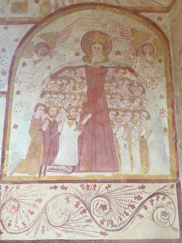 Après le déjeuner, visite de l'église de St Céneri