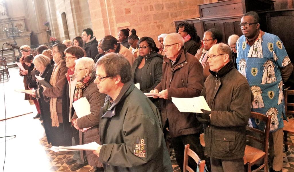 La chorale réunie de Notre-Dame et Ste Thérèse