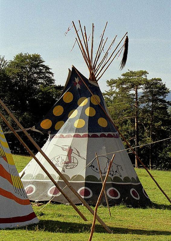 Büffel-Tipi 1984
