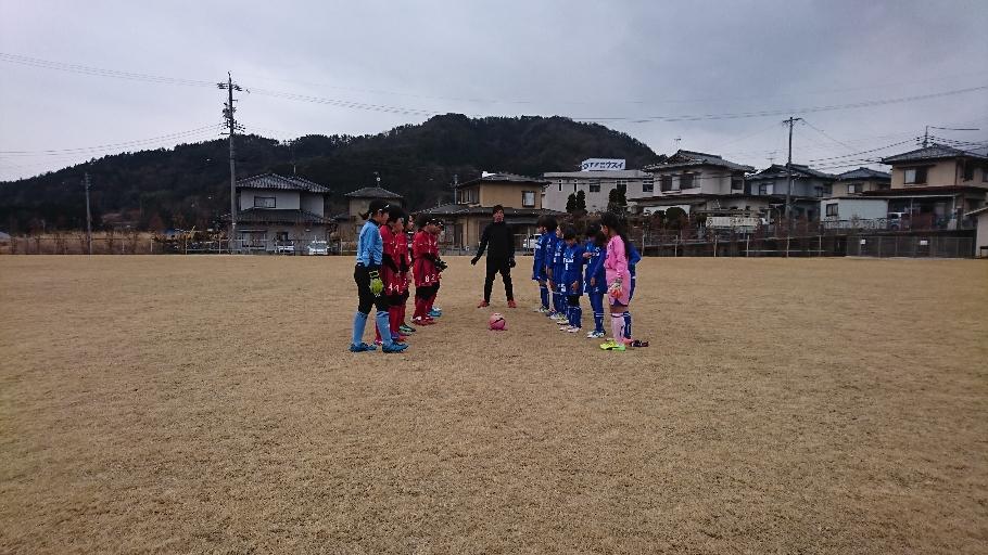 トレーニングマッチ vs 波田バンビーナ